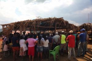 Esse acampamento faz parte de um conjunto maior de áreas ocupadas por trabalhadores sem terra que reivindicam terras concentradas pela Vale desde os anos 2000. Desde então, a Vale se tornou dona de grande parte das terras agricultáveis do município.