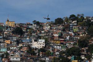 Rio de Janeiro - Operação de segurança contra confrontos entre traficantes na favela da Rocinha. (Foto:  Fernando Frazão/Agênci Brasil)