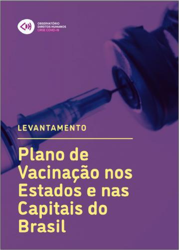 capa relatório observatório vacinação