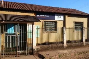 O colégio de Sobradinho hoje funciona para atender apenas quatro alunos, pois não há mais crianças na comunidade