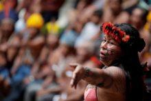 Líder indígena da Amazônia Alessandra Korap, da etnia munduruku 21/11/2019 REUTERS/Ueslei Marcelino