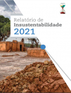 capa relatorio de insustentabilidade 2021