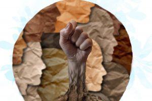 Justiça Global parabeniza organização Terra de Direitos.  Arte: Camila Fiuza.